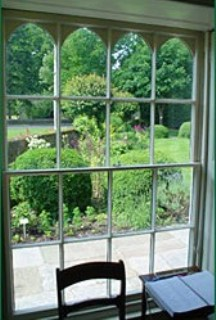 Chawton Cottage Window
